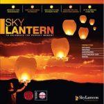 10 x Lanternes Blanches chinoise celestes volantes biodégradable pour fêtes , moments romantiques et magiques de la marque Sky Lanterns image 1 produit