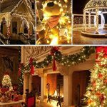 100M/500 LED Guirlande Ulinek Guirlandes Lumineuses Décoration avec 8 Modes d'éclairage Pour Anniversaire, Noël, Sapin de Noël, Christmas Arbre, Mariage, Party, Décoration Maison (Blanc chaud) de la marque Ulinek image 3 produit