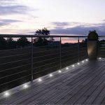 12X Spots LED Encastrable Extérieur IP67 Acier inoxydable - Spots à Encastrer pour Terrasse Bois Plafond 0,6W DC12V lumière Blanc étanche Kit Mini Spot LED Lampe Extérieur pour Chemin Contremarches d'escalier Piscine de la marque Domua image 5 produit