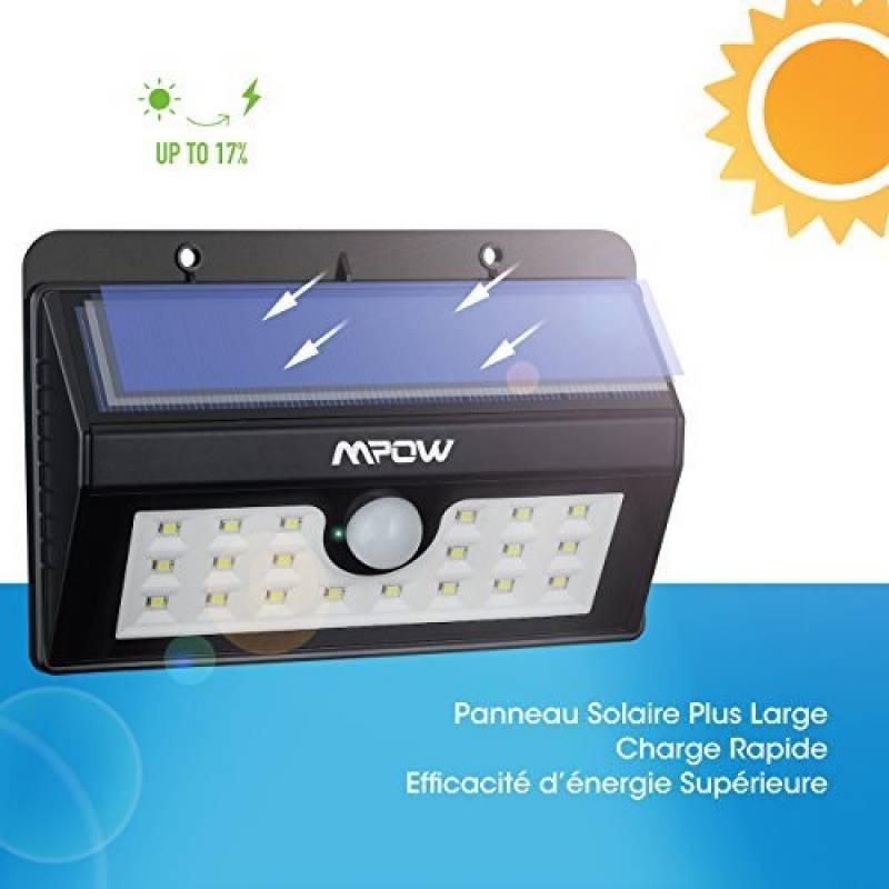 Eclairage exterieur solaire avec amazing eclairage for Eclairage exterieur avec detecteur sans fil