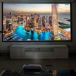 3200 Lumens Projecteur Full HD 1080P Vidéoprojecteur, LESHP LED Vidéoprojecteur de Cinéma Maison 1280 × 1920 Contraste Max 3000: 1, Support USB / VGA / SD / HDMI de la marque LESHP image 5 produit