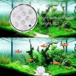 4 x lumière sous-marines avec télécommande, RVB Changement de couleur multi étanche Lampes LED éclairage de bassin pour jardin, aquarium, bar, Bal, baignoire, décoration, vase, piscine, bassin [Classe énergétique A + +] xinban 4r Teichbeleuchtung de la ma image 4 produit