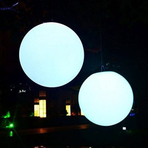 40cm Sphère LED Lumineuse Flottante IP67 - Lampe Rechargeable pour Piscine Jardin Extérieur RGB + Télécommande de PK Green de la marque PK Green image 0 produit