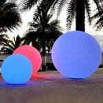 40cm Sphère LED Lumineuse Flottante IP67 - Lampe Rechargeable pour Piscine Jardin Extérieur RGB + Télécommande de PK Green de la marque PK Green image 1 produit