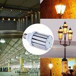 Ampoule Led Mais E27 35W Blanc Chaud équivalent à 250-300W,Lampe Led Puissante 220V 3500LM 3000k,Super Lumineux Pour Eclairage Exterieur Grande Pièce Garage Entrepôt Terrasse Angle de diffusion 360° de la marque SkyGenius image 4 produit