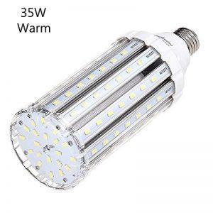 Ampoule Led Mais E27 35W Blanc Chaud équivalent à 250-300W,Lampe Led Puissante 220V 3500LM 3000k,Super Lumineux Pour Eclairage Exterieur Grande Pièce Garage Entrepôt Terrasse Angle de diffusion 360° de la marque SkyGenius image 0 produit