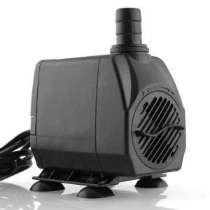 Amzdeal Pompe Submersible Multifonction pr Aquarium Poisson Fontaine 60W 3000L/H 220-240V/50Hz Submersible Pompe à Eau Ultra-silencieux avec 4 pieds de ventouses de la marque ProDeals image 0 produit
