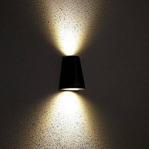 Biard ® - Applique Extérieure Murale - LED GU10 -Économique & Design Conique Noir - Faisceau Descendant de la marque Biard image 0 produit