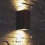 Biard ® - Applique Extérieure Murale - LED GU10 - Économique & Design Rectangulaire - Double Faisceau - Éclairage Jardin de la marque Biard image 1 produit