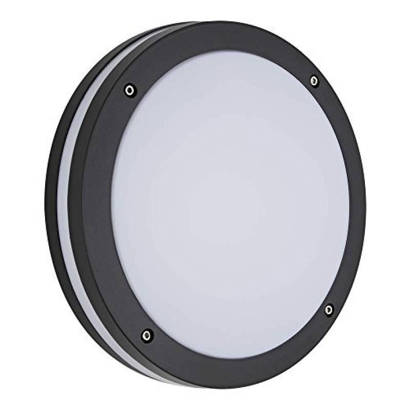 Biard ® ARCHITECT - Applique Extérieure LED Hublot - Luminaire Extérieure - Éclairage  Jardin - 9W Équivalent 60W - Économe en Énergie - Boîtier Rond Noir de ... d80aebb6f172