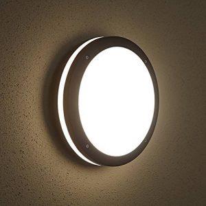 Biard ® ARCHITECT - Applique Extérieure LED Hublot - Luminaire Extérieure - Éclairage Jardin - 9W Équivalent 60W - Économe en Énergie - Boîtier Rond Noir de la marque Biard image 0 produit