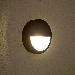 Biard ® ARCHITECT - Applique Extérieure - LED Hublot - Luminaire Extérieure - Éclairage Jardin - 9W Équivalent 60W - Économe en Énergie - Design Inventif Demi-lune de la marque Biard image 0 produit