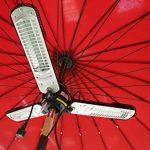 Chauffage de jardin électrique Trois lampes, chauffage terrasse, chauffage pour parasol - Infrarouge Halogène - 2000w de la marque interougehome image 3 produit