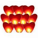 coolshiny® Chinoise lanternes volantes Sky Bougie Lampes feu pour mariage Souhaitant Parti x 10 Pcs de la marque coolshiny® image 5 produit