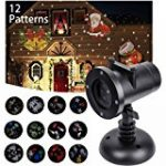 COOWOOO Projecteur Led éclairage de Noël pour l'intérieur et l'extérieur rouge-vert avec 8 motifs de la marque Coowoo image 3 produit