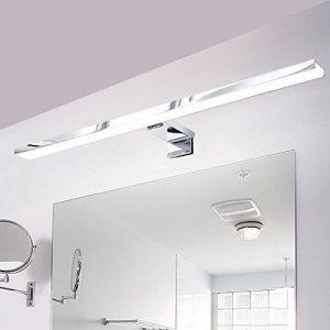 CroLED Lampe Salle de Bain LED 8W 600LM Blanc IP44 Aluminium Eclairage Pour Miroir Maquillage Ameublement Meuble Applique Mural de la marque CroLED image 0 produit