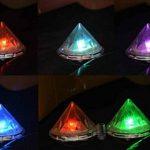 Cuzile Lot de 4LED solaires Diamant sur piquet à changement de couleur pour Jardin Pelouse Chemin de la marque CuZiLe image 2 produit