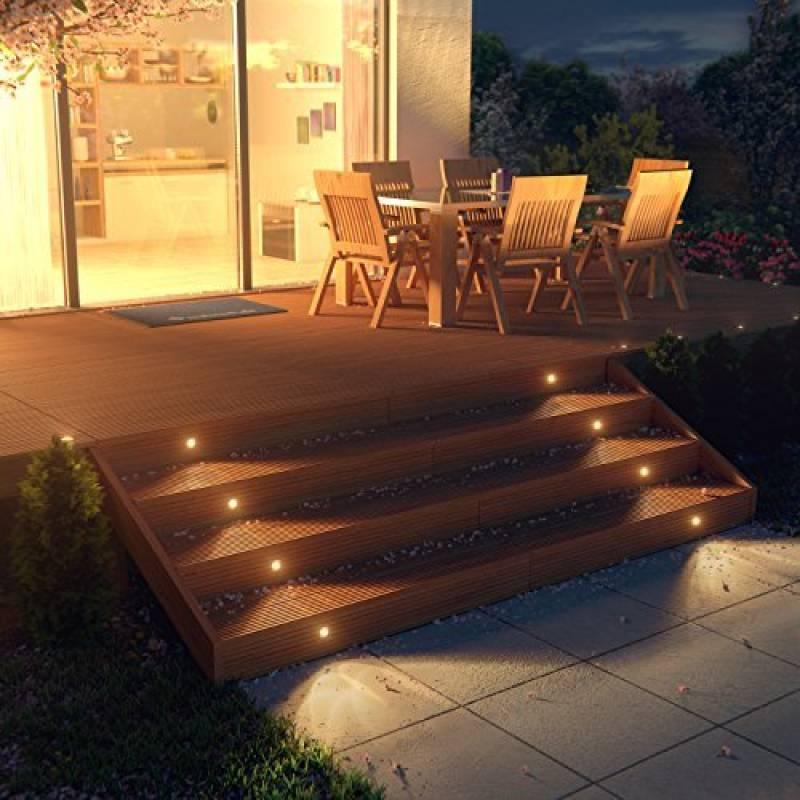 Eclairage Sol Terrasse Bois Pour 2019 Choisir Les