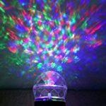GAXmi Projecteur noël LED Extérieur Lumière tombante de neige blanc Averses de neige Lampes Projecteur LED Projecteur tournant de la marque GAXmi image 12 produit