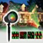 GAXmi Projecteur noël LED Extérieur Lumière tombante de neige blanc Averses de neige Lampes Projecteur LED Projecteur tournant de la marque GAXmi image 16 produit