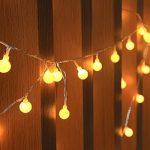 Gearmax® 10M 100 LED Lumineuse Décorative, alimentation électrique, Décoration intérieur et extérieur pour Noël Fête, Jardin, Mariage Sapin, Terrasse, Maison, Pelouse de la marque Gearmax image 5 produit