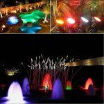 GEEDIAR® 36 LED Spot Led Submersible Ampoule / lampe LED étanche submersible Colorful aquarium sous-marin Spot Light pour Fish Tank avec 24 Télécommande IR Key (1.5w) de la marque GEEDIAR image 5 produit
