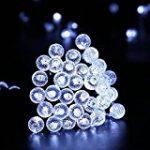 Glighone Guirlande Rideau Lumineux 600 LEDs Intérieur Extérieur Etoiles Lumières Féeriques Eclairage Décoration pour Fenêtre Fête Noël Soirée Mariage Jardin Parasol Blanc Froid 8 Modes 6Mx3M de la marque Glighone image 21 produit