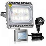 GOSUN® Super Brillant 30W LED Projecteur Lumière, IP65 Imperméable, 2700lm, Eclairage Extérieur LED, Equivalent à Ampoule Halogène 300W, Blanc chaud 2800-3200K, Eclairage de Sécurité,Garantie de 36 mois de la marque GOSUN image 6 produit