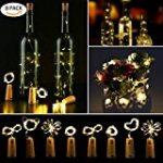 Guirlande Cuivre Lumineuse Noël lumière LED Fée cordes Lumières Decorative, URAQT 20M 200 LED Lights étoilées pour Outdoor, jardin, mariage, fête, accueil avec télécommande de la marque URAQT image 21 produit