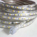 iDream - 220V 5m SMD 5050 LED Ruban Bande Strip 300 LEDs éclairage étanche waterproof - utiliser directement pas besoin de l'adapteur, plus pratique (Blanc) de la marque iDream image 5 produit