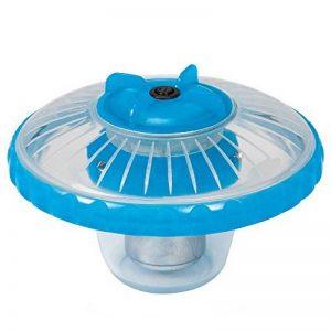 Intex Lampe LED Flottante de piscine Bleu Givré 16,8 x 16,8 x 12,4 cm 28690 de la marque Intex image 0 produit
