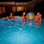Intex Lampe LED Flottante de piscine Bleu Givré 16,8 x 16,8 x 12,4 cm 28690 de la marque Intex image 2 produit