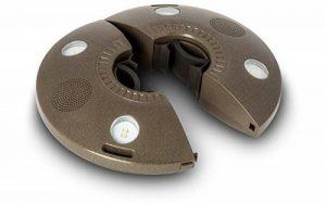 ION Audio Patio Mate Éclairage LED pour Parasol avec Haut-Parleurs Bluetooth Intégrés avec Batterie Rechargeable - Waterproof de la marque Ion image 0 produit