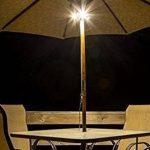 ION Audio Patio Mate Éclairage LED pour Parasol avec Haut-Parleurs Bluetooth Intégrés avec Batterie Rechargeable - Waterproof de la marque Ion image 6 produit