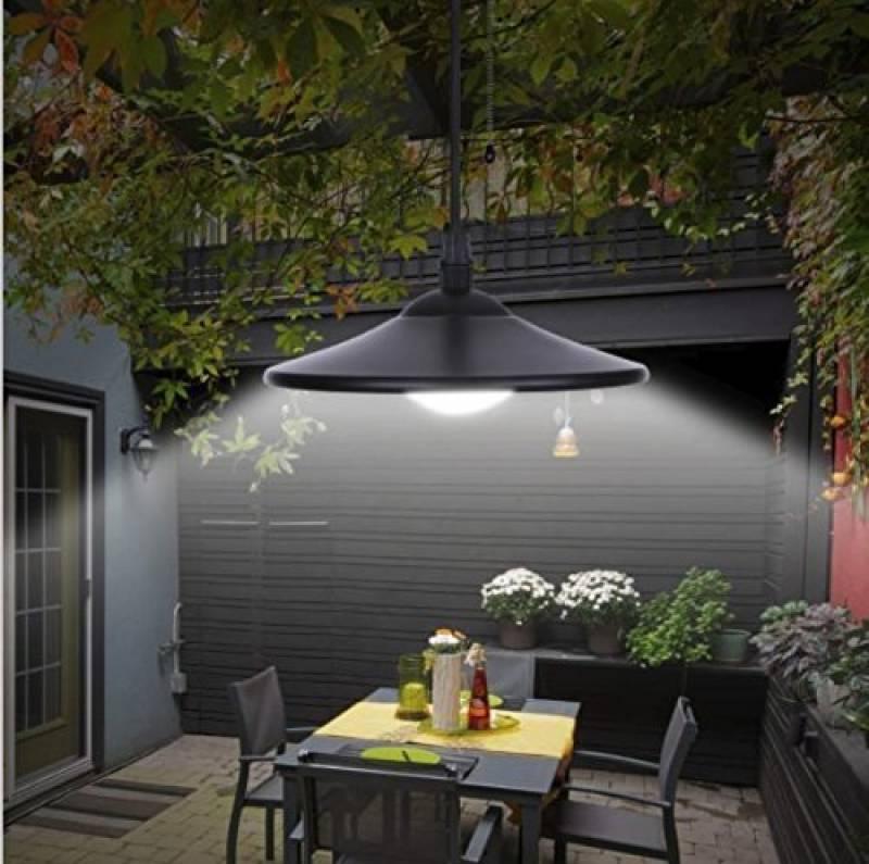 Jardin, terrasse Lanternes décoratives 2er Set DEL Solaire ...