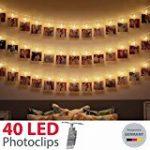 Kohree Guirlande Lumineuse 20M 200 LED Blanc Chaud pour Mariage, Fête, Maison, Jardin, Noël de la marque Kohree image 14 produit