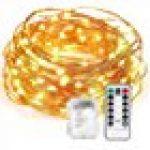Kohree Guirlande Lumineuse 20M 200 LED Blanc Chaud pour Mariage, Fête, Maison, Jardin, Noël de la marque Kohree image 9 produit