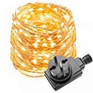 Kohree Guirlande Lumineuse 20M 200 LED Blanc Chaud pour Mariage, Fête, Maison, Jardin, Noël de la marque Kohree image 0 produit