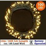 Kohree lot de 8 Guirlande Lumineuse à Piles 20 LED 2M Fil Cuire Décoration pour Mariage, Fête, Maison, Jardin, Sapin de Noël (Jaune chaud) de la marque Kohree image 9 produit