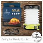 Lampe de poche de puissance maximale LED avec Powerbank d'urgence - USB rechargeable, pliable, idéal pour camping, sécurité, patio ou Voyage! (800 or 1800mAh Power) de la marque Bright Outdoors image 3 produit