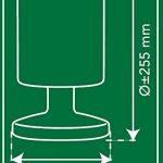 Lampe de table à LED Smartwares 5000.472 – Sans fil – Batterie – 5 W – Plastique – Convient pour une utilisation en extérieur de la marque RANEX image 3 produit