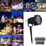 Lampe Projecteur d'Ambiance Eclairage Lumière 2 Couleurs Réglable Etoiles de Ciel Motifs Utilisation l'Intérieur ou l'Extérieur avec Télécommande de la marque AZX image 4 produit