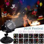 Lampe Projecteur d'Ambiance Eclairage Lumière 2 Couleurs Réglable Etoiles de Ciel Motifs Utilisation l'Intérieur ou l'Extérieur avec Télécommande de la marque AZX image 7 produit