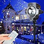 Lampe Projecteur d'Ambiance Eclairage Lumière 2 Couleurs Réglable Etoiles de Ciel Motifs Utilisation l'Intérieur ou l'Extérieur avec Télécommande de la marque AZX image 11 produit