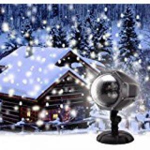 Lampe Projecteur d'Ambiance Eclairage Lumière 2 Couleurs Réglable Etoiles de Ciel Motifs Utilisation l'Intérieur ou l'Extérieur avec Télécommande de la marque AZX image 0 produit