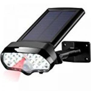 Lampe Sans Fil 28Led Spot Lumineux de Parasol, Batterie Intergre et Rechargeable, 2 Mode Luminosite pour Terrasse, Jardin,Grand Parapluie de la marque GRDE image 0 produit
