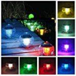 Lampe Solaire Jardin, OxyLED Eclairage Extérieur sans Fil, Lumière Solaire de Patio en Forme de Libellules/ Colibris/ Papillons,3 Pack, GL-01 de la marque OxyLED image 3 produit