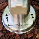 Lampe sur pied plot lumineux avec prise électrique de la marque hofstein image 5 produit