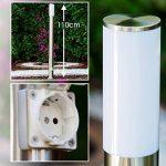 Lampe sur pied plot lumineux avec prise électrique de la marque hofstein image 1 produit