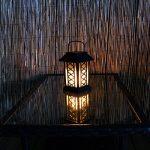 Lanterne Solaire avec Bougie LED Effet Vacillant (Pile Rechargeable Incluse) 17,5cm Waterproof de la marque Festive Lights image 1 produit